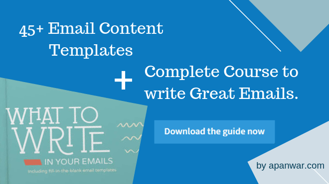 Aweber eMail Writing Guide