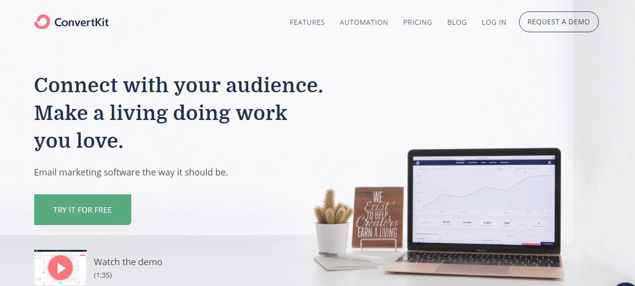 ConvertKit E Mail Marketing Software