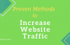 Top 32 Proven Methods to Increase Your Website Traffic