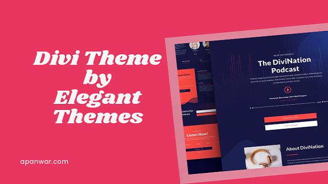 divi theme by elegant themes