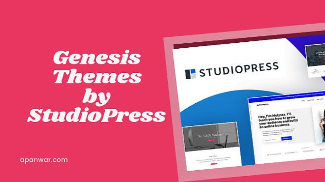 genesis theme by studiopress