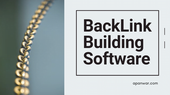 Back Link Building Software