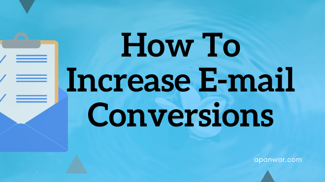 How to increase email conversions