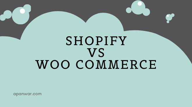 Shopify vs Woo commerce