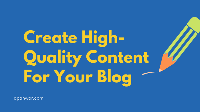 Ideas to create original and unique content for your blog