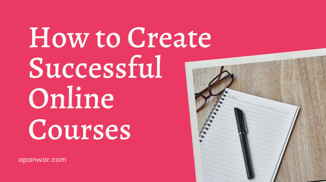 how to create successful online course