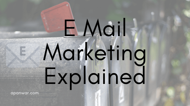 what is e mail marketing