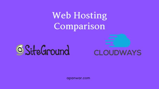 siteground vs cloudways hosting comparison