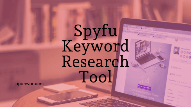 spyfu competitor keyword research tool