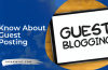What Is Guest Posting How To Get Quality Backlinks Using Guest Posts?