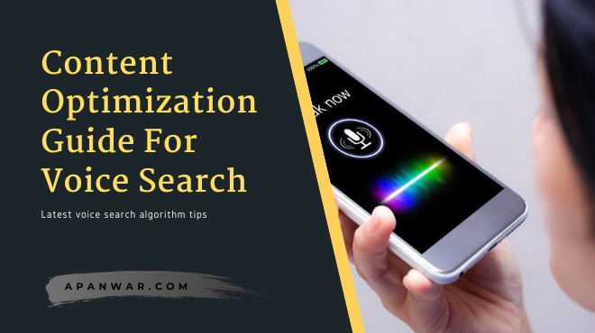 How to optimize your blog content for the latest voice search algorithm