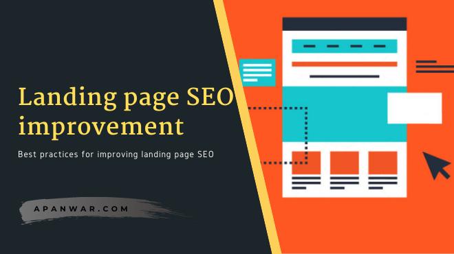 landing page SEO improvement