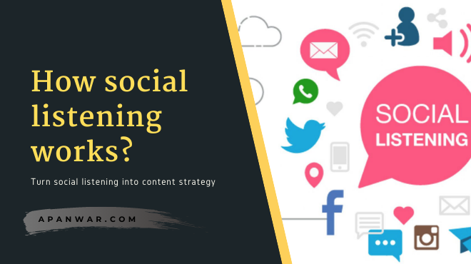 How to turn social listening into content strategy?