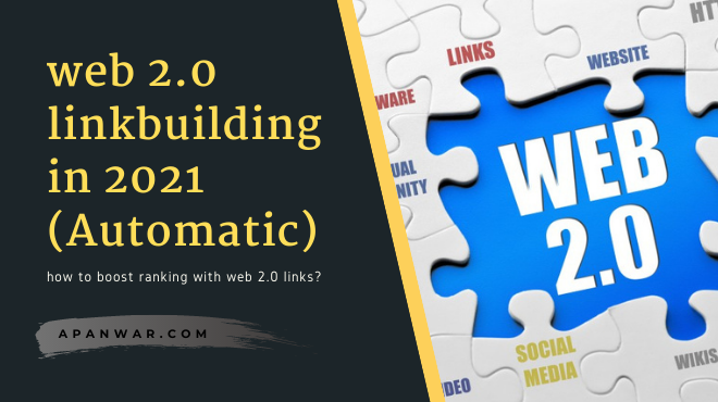How to get web 2.0 backlinks boost your rankings?