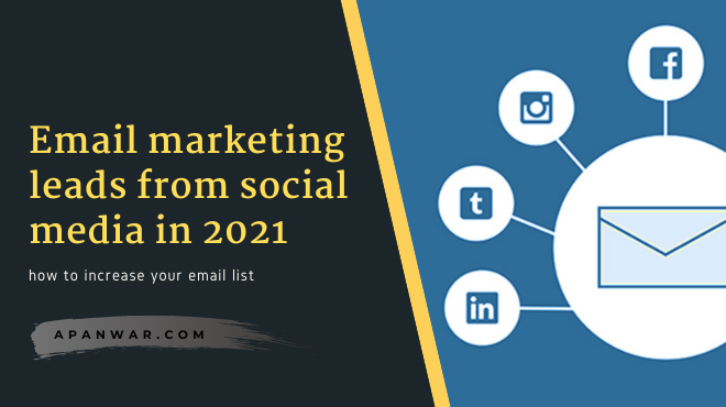 How to increase your email list with social media platforms?